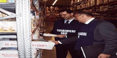 """Carabinieri NAS: controlli alla filiera """"biologica"""". Sequestrate 100 tonnellate di alimenti irregolari"""