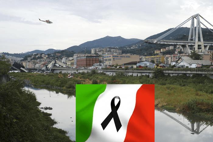 GENOVA: Crollo ponte A10, il cordoglio di Italy Info Food per le vittime