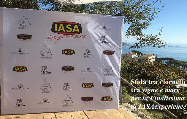 Sfida tra i fornelli tra vigne e mare per la Finalissima di IASAexperience