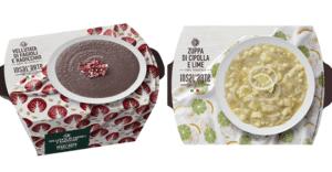 OrtoRomi lancia nuove zuppe fresche e vellutate dagli accostamenti di sapori inediti