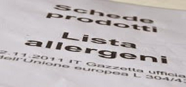 Allergeni in menù, un salvavita per 2 milioni di italiani