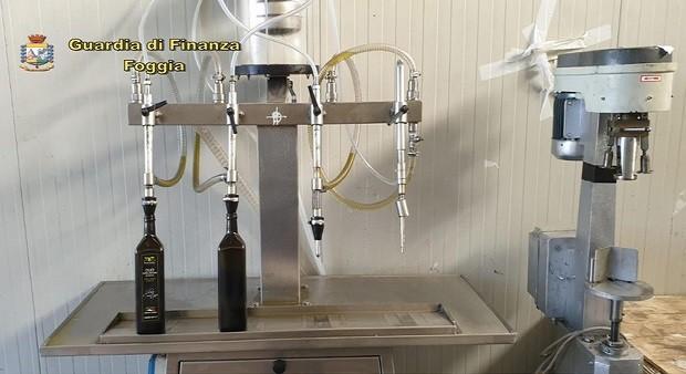G. di F. Olio di soia venduto per extravergine, 24 misure cautelari