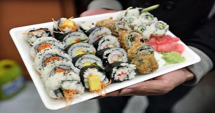 Sushi 'indigesto',12 infettati norovirus