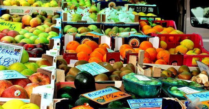 Inflazione ai minimi con il calo dei prezzi della frutta (-1,7%)