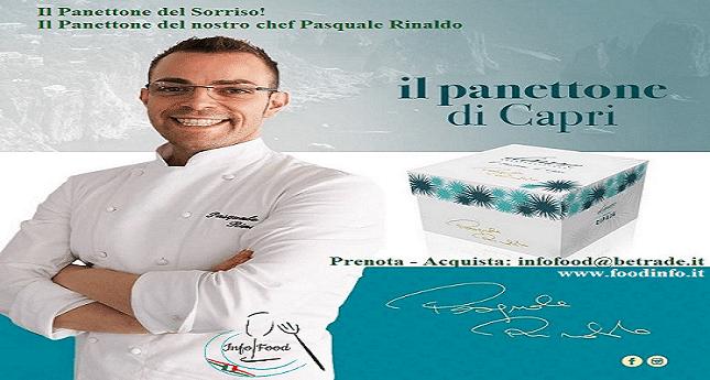 Il Panettone made in Capri dello chef Pasquale Rinaldo