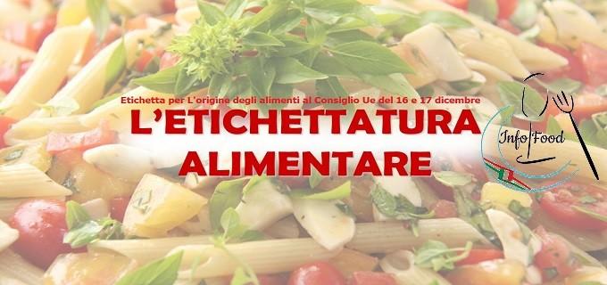 L'ETICHETTATURA+ALIMENTARE