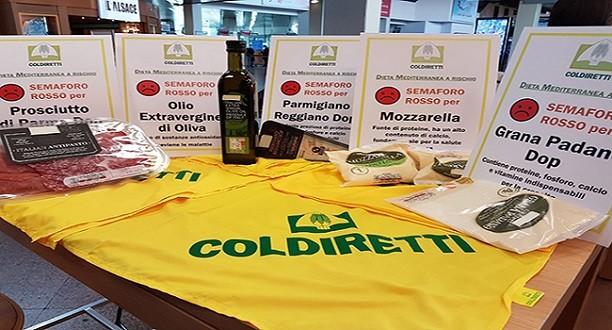 Etichetta a semaforo boccia 85% del Made in Italy
