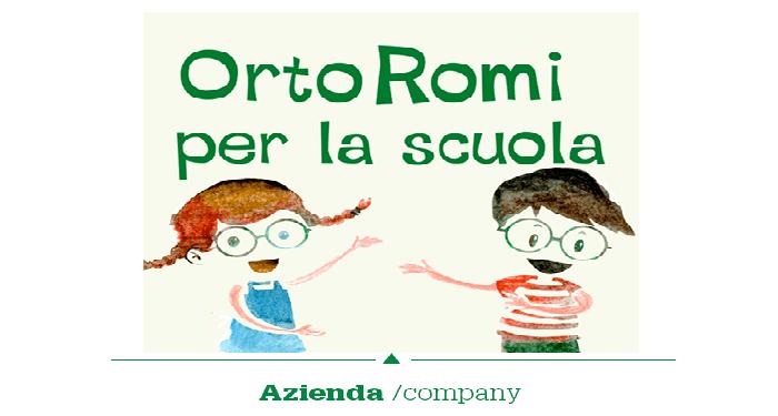 """Al via il progetto """"OrtoRomi per la Scuola"""""""