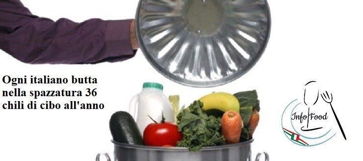 Ogni italiano butta nella spazzatura 36 chili di cibo all'anno