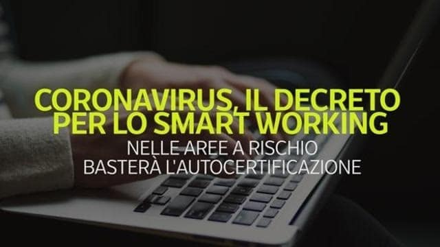 Coronavirus, «incentivi» allo smart working in tutto il Nord. Ma per ristorazione e pulizie rischio ferie forzate
