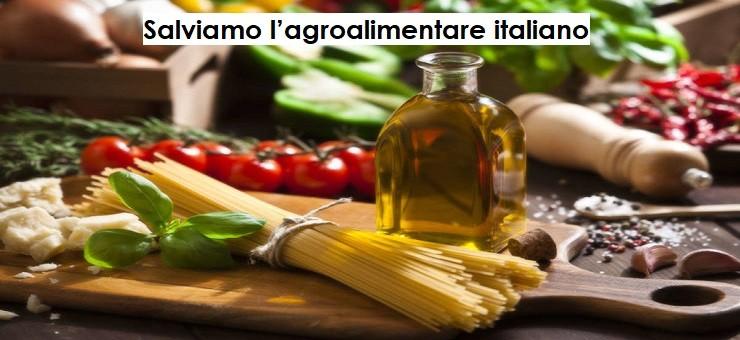 Salviamo l'agroalimentare italiano