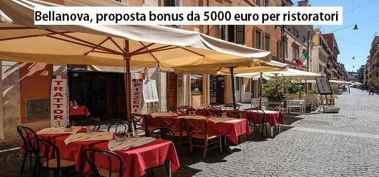 Bellanova, proposta bonus da 5000 euro per ristoratori