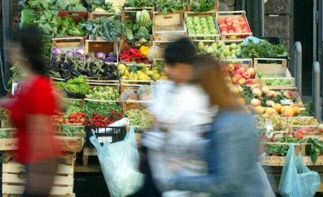 Consumi frutta e verdura
