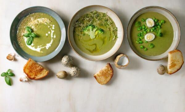 zuppe vellutate minestre
